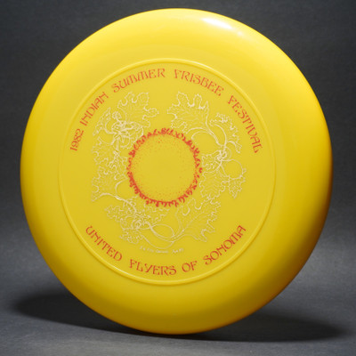 Sky-Styler United Flyers of Sonoma (UFOs) 82 Indian Summer Yellow w/ Metallic Gold and Red Matte  - T80