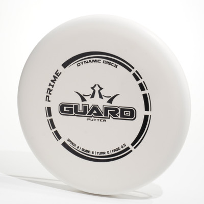 Dynamic Discs Prime GUARD White Top View