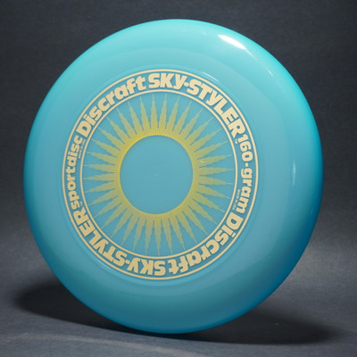 Sky-Styler Sun Blue w/ Yellow Matte Sun and Metallic Gold Ring - NT