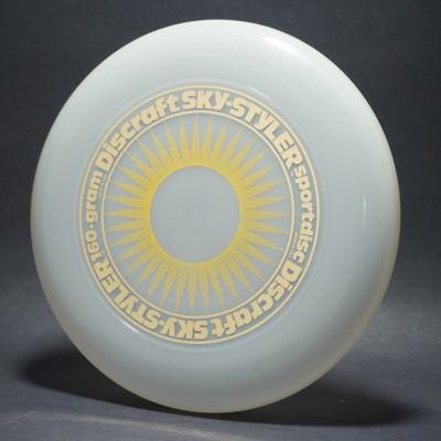 Sky-Styler Sun Clear w/ Yellow Matte Sun and Metallic Gold Ring - TR
