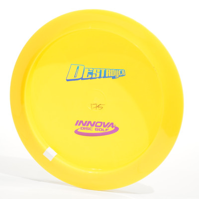 Innova Destroyer (Star) BottomStamp Yellow Bottom View