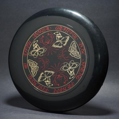 SKY-STYLER SPRING FREESTYLE '83 Black w/  Metallic Gold & Red Matte - T80