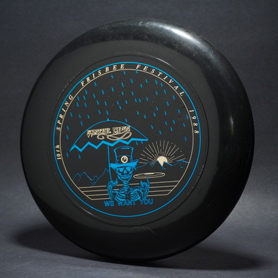 SKY-STYLER GRATEFUL DISC '88 Black w/  Metallic Gold & Blue - T80