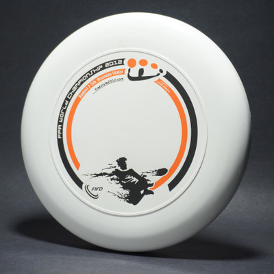 Sky-Styler 2012 FPA World Championships White w/ Black and Orange Matte - T2000s - Top View