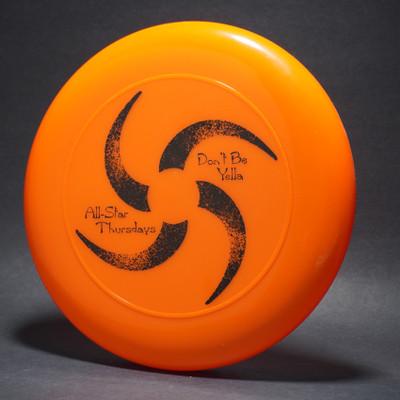 Sky-Styler Don't Be Yella All-Star Thursdays Orange w/ Black Matte - T2000s - Top View
