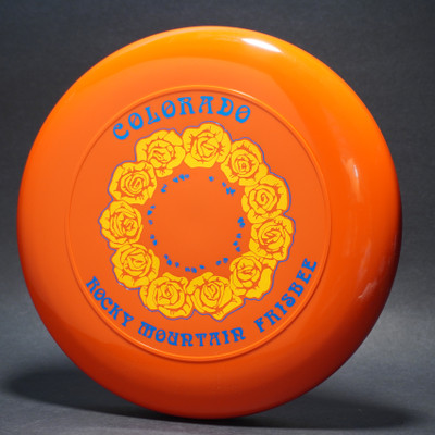 Sky-Styler 82 Colorado Rocky Mountain Frisbee - NT - Top View