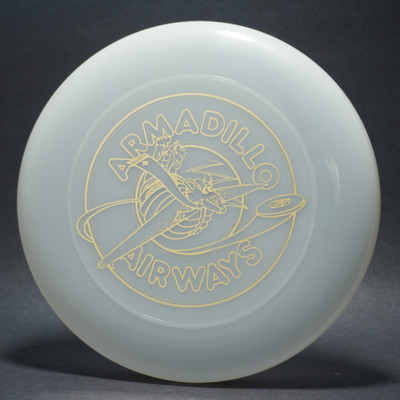 Sky-Styler Armadillo Airways Clear w/ Metallic Gold - T80 - Top View