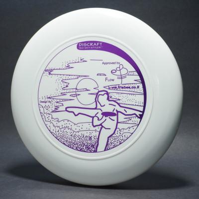 Sky-Styler www.frisbee.co.il Leg Delay White w/ Metallic Purple - T2000s - Top View