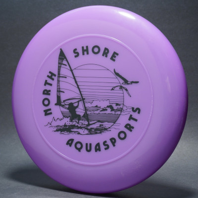 Sky-Styler North Shore Aquasports Purple w/ Black Matte - T80 - Top View