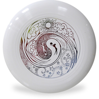 Discraft ULTRA-STAR - YIN YANG DESIGN Ultimate Frisbee Disc