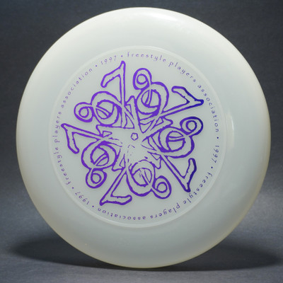 Sky-Styler FPA 1997 Tour Disc UV/Clear w/ Metallic Purple - T80 - Top View