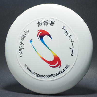 Sky-Styler Singapore Ultimate White w/ Metallic Rainbow and Black Matte - T90 - Top View