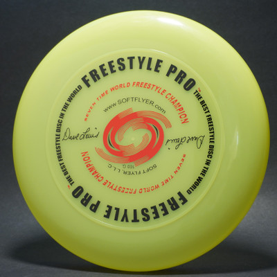 Sky-Styler DAve Lewis Freestyle Pro Bright Yellow w/ Metallic Red and Black Matte - T2000s - Top View