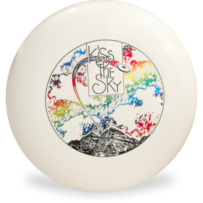 Discraft ULTRA STAR - KISS THE SKY Design 175g Ultimate Frisbee Flying Disc