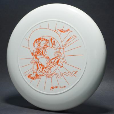 Sky-Styler 2002 Tokyo Fujin White w/ Orange Matte - T2000s - Top View