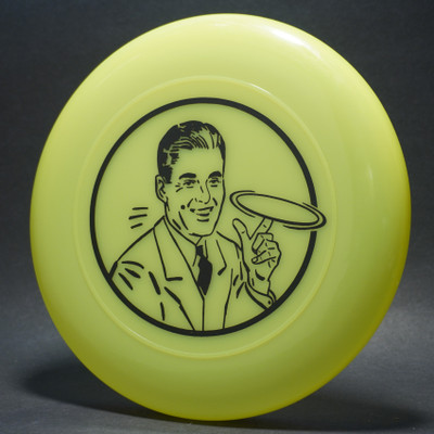 Sky-Styler 1950s Man Delaying Bright Yellow w/ Black Matte - T2000 - Top View