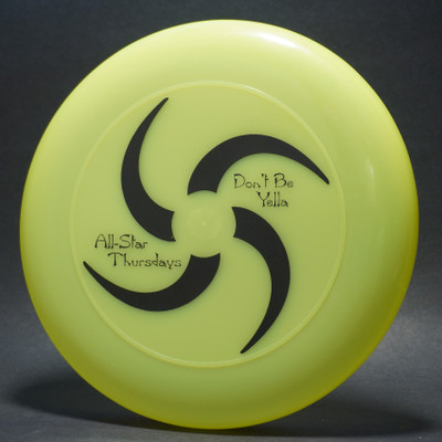 Sky-Styler Don't Be Yella All-Star Thursdays Bright Yellow w/ Black Matte - T2000 - Top View