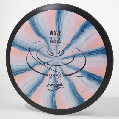 MVP Cosmic Neutron WAVE Pink-Blue Swirl Top View