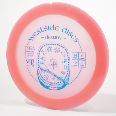 Westside VIP AIR Destiny Pink Top View