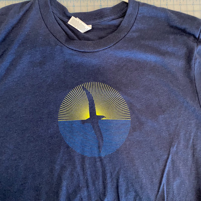Fly the Sky T-Shirt – Long Sleeve Retro Re-Print