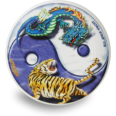 Discraft SUPER COLOR ULTRA STAR - YIN YANG Ultimate Frisbee Flying Disc