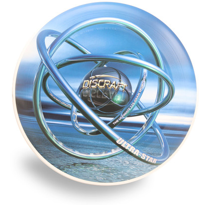 DISCRAFT ULTIMATE FRISBEE SUPER COLOR ULTRA STAR - ORB