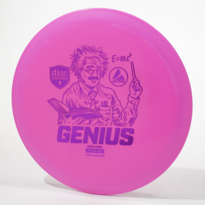 Discmania Active GENIUS Pink Top View