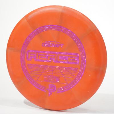Discraft Fierce (Special Blend) Paige Pierce Stock Model Orange Swirl Top View