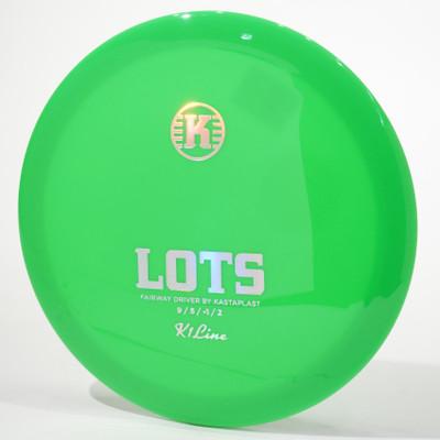 KastaPlast LOTS (k1) Green Top View