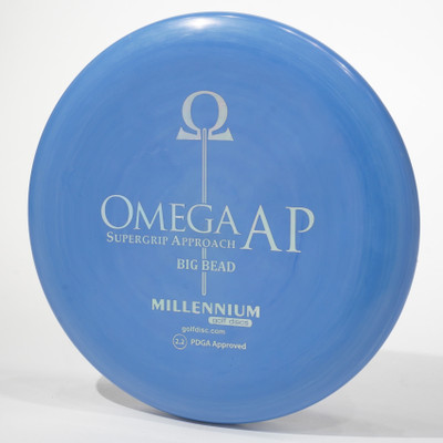 Millennium Omega Big Bead (Standard AP) Blue Top View