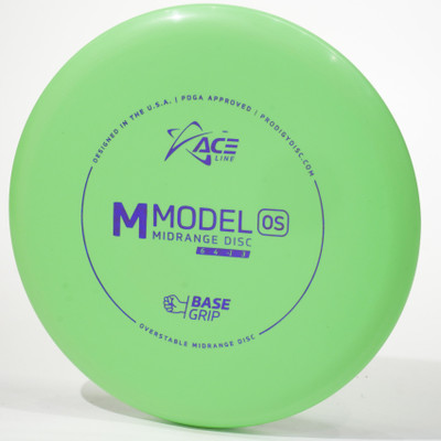 Prodigy Ace Line M Model OS (Base Grip) Green Top View