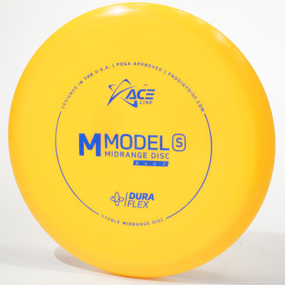 Prodigy Ace Line M Model S (DuraFlex) Yellow Top View