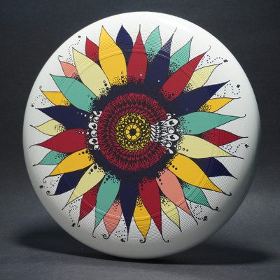 Discraft UltraStar (SuperColor) Colorado Flower Top View