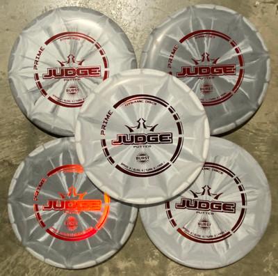Dynamic Discs Judge (Prime) Gift Set of 5