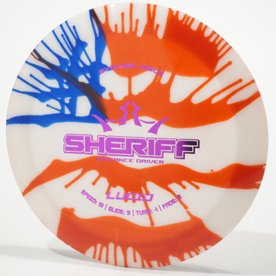 Dynamic Discs Sheriff (Lucid) - MyDye USA Flag