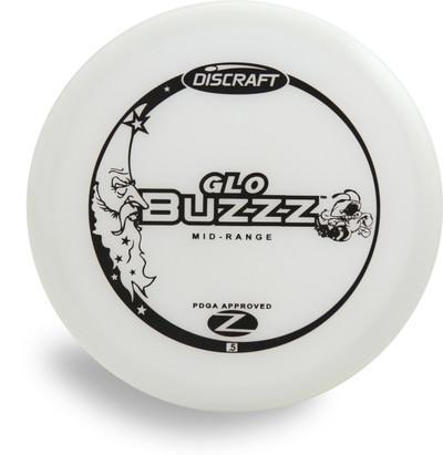 DISCRAFT GLOW Z BUZZZ MID-RANGE GOLF DISC