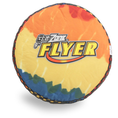"GRIPPER FLYER 9"" SMALL SOFT FLYING DISC FOR KIDS"