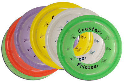 Wham-O COASTER FRISBEE 6 PACK - Set of Six Flying Disc Rings