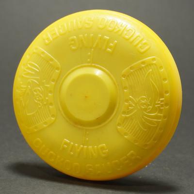 Food Mini - Flying Cuckoo Saucer - Yellow