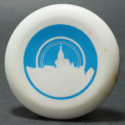 Discraft Micro Mini - Skyline White w/ Blue