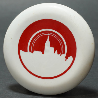 Discraft Micro Mini - Skyline White w/ Red