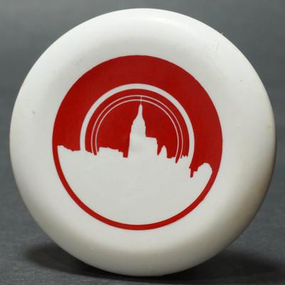 Discraft Micro Mini - Skyline White w/ Red