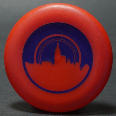 Discraft Micro Mini - Skyline Red w/ Blue