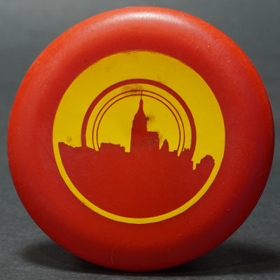 Discraft Micro Mini - Skyline Red w/ Yellow
