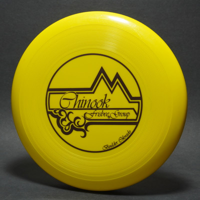 Classic Wham-O 40 Mold Chinook Frisbee Group