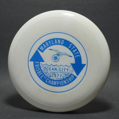 Classic Wham-O 40 Mold Maryland State Frisbee