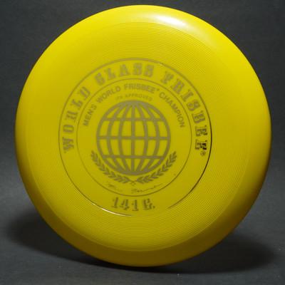 Classic Wham-O 51 Mold World Class - Scribble Signature Yellow