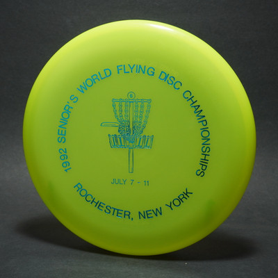 Innova Light Birdie  '92 Seniors World Flying Disc Championships Yellow