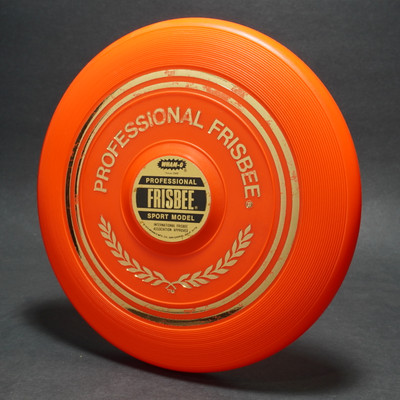 Classic Wham-O Pro Model Mold ? Orange w/ Label