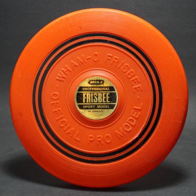 Classic Wham-O Pro Model Mold 14 Raised Letter Orange w/ Label
